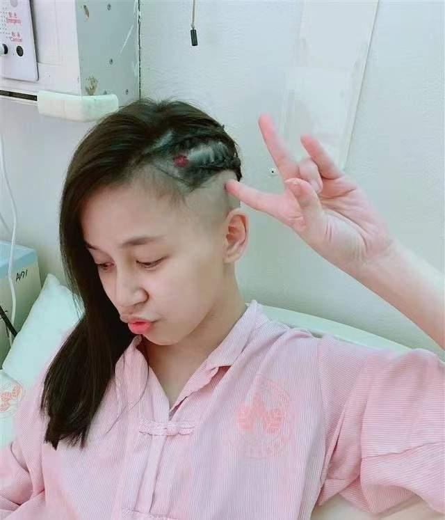36歲臺星陳莜蕾腦瘤復發,直播聊抗病經歷,曾臉部面癱無法走直線