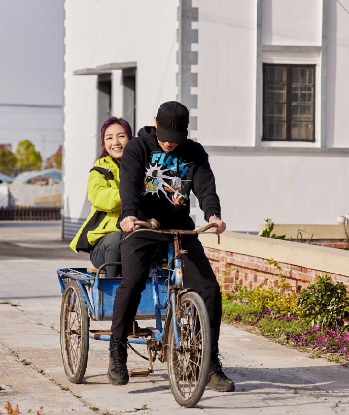 楊千嬅真人秀和老公騎三輪車,感悟人生:經歷「三失」才能幸福