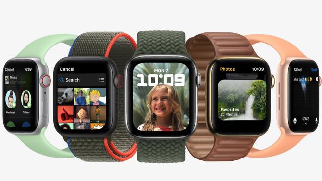 蘋果 watchOS 8 正式釋出:睡眠呼吸頻率監測,聊天可發 GIF 動圖