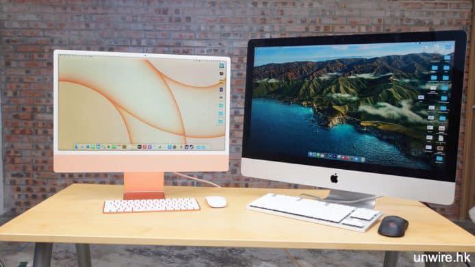 Apple M1 iMac 2021開箱評測:優缺點展示及 Windows 10 安裝測試