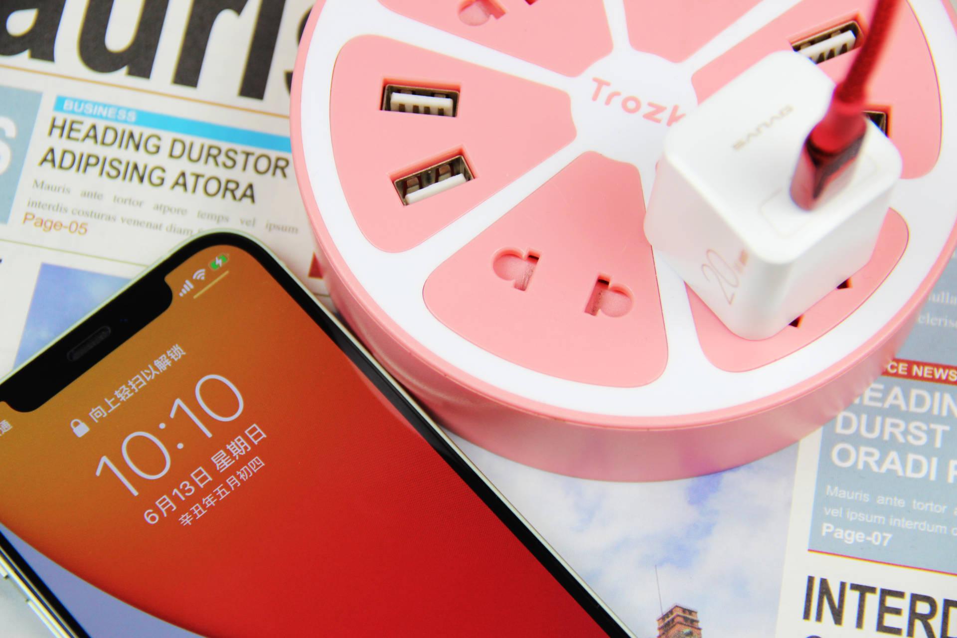 女王大人的新寵,顏值功能俱佳的充電頭為iphone12助力