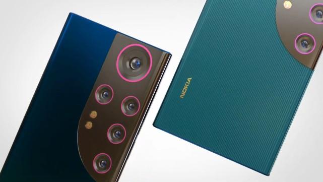 諾基亞亮底牌,N73 Pro概念機曝光:大眼五攝設計很有辨識度!