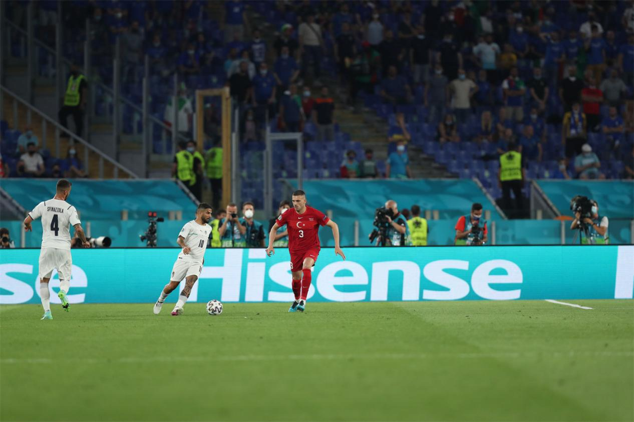 海外收入佔四成,電視界的「中國名片」,海信的足球營銷策略