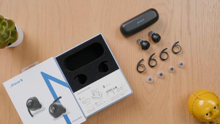 SpearX M2 真無線藍芽耳機:世界最小電池,卻有10小時超長續航!