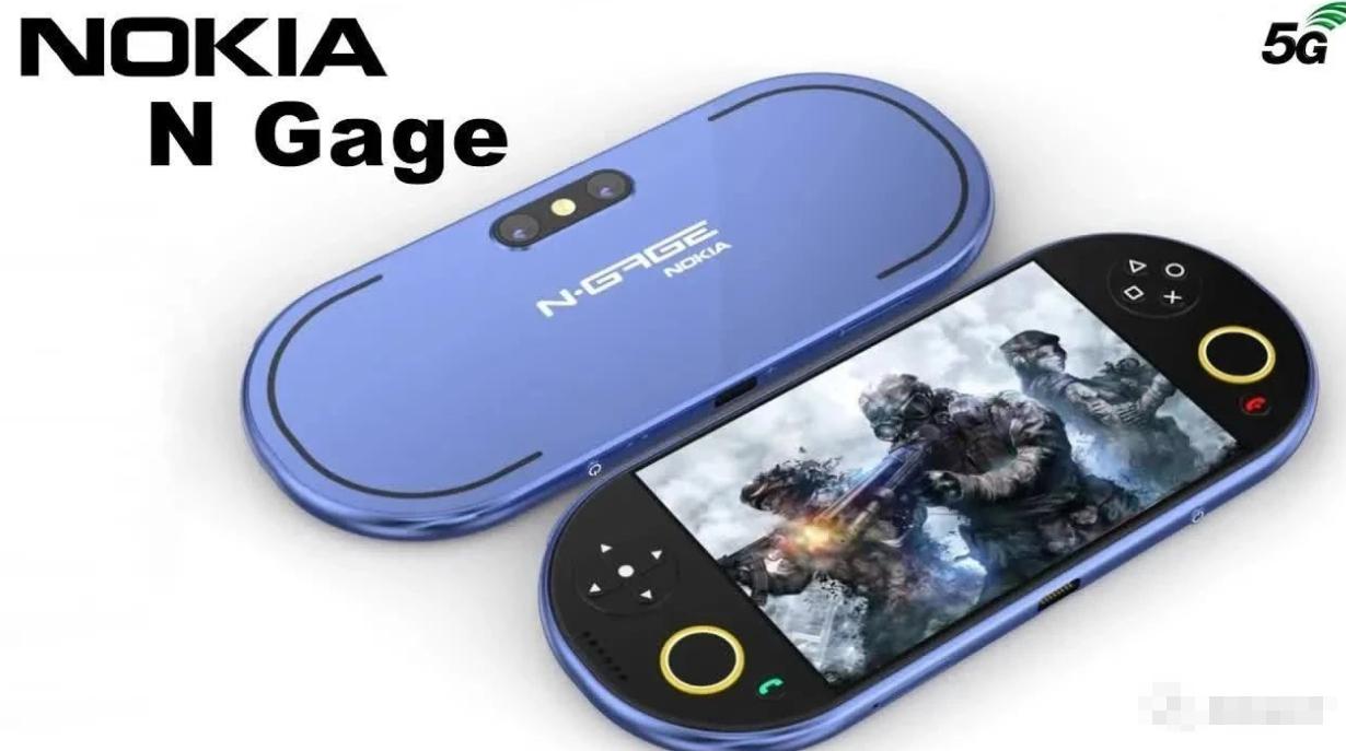 諾基亞N Gage QD全新改版樣機曝光:精湛無比,真正遊戲手機誕生