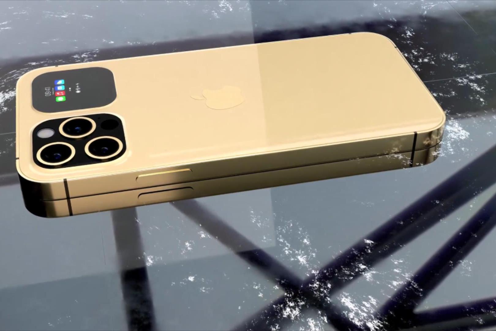 iPhone13Pro概念圖:55W無線閃充+2.5寸副屏,感覺iPhone12落後了