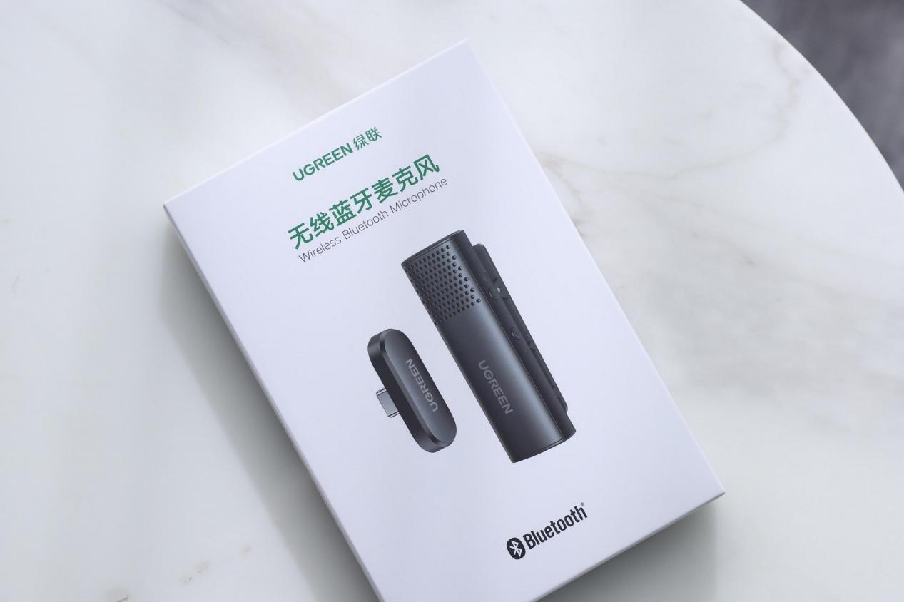 綠聯藍芽無線麥克風上手:人聲錄製神器,遠距離也清晰!