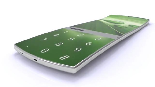諾基亞概念機大曝光:外觀設計造型奇特驚豔+6000mAh電池!