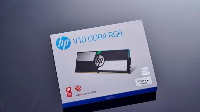 提升遊戲幀數的關鍵一環,惠普V10 DDR4-3600 RGB記憶體圖賞